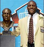 Barry Sanders Football Hall of Fame Bust